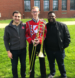 Congratulations Lukas Helsel - Two-Time First Chair PMEA All-State Concert Band