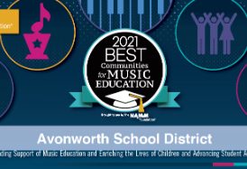Avonworth Recognized as one of the Best Communities for Music Education