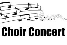 Choir Concert Date Change