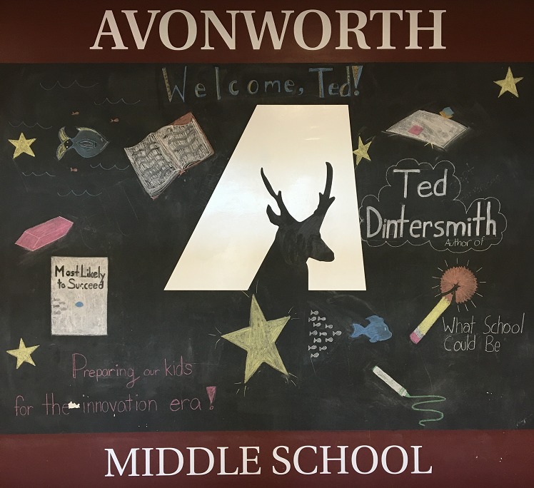 Ted Dintersmith Visits Avonworth