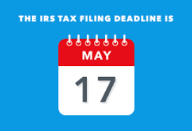 Notice: 2020 Tax Filing Deadline Extended