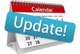 2020-2021 School Calendar Update