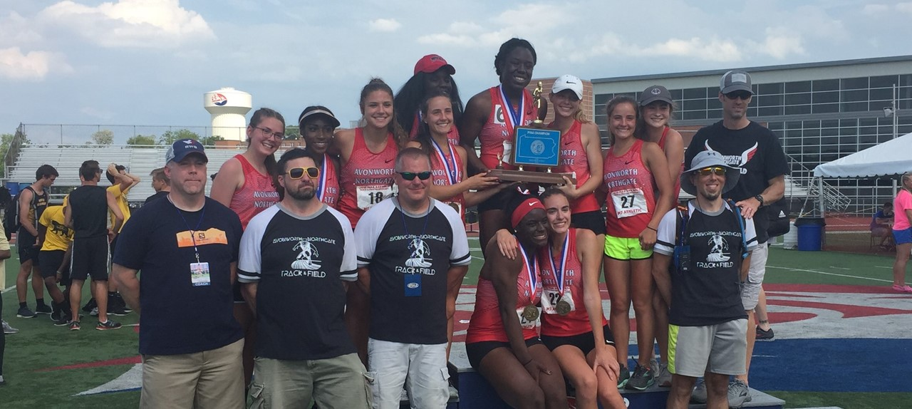 Girl's Track Team - State Champs