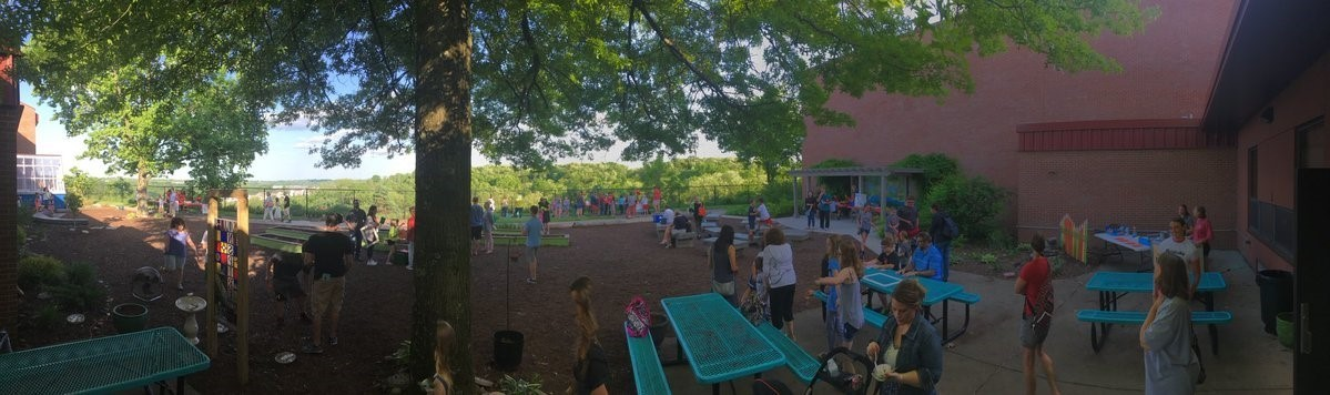 The AES CARE Space/Outdoor Classroom