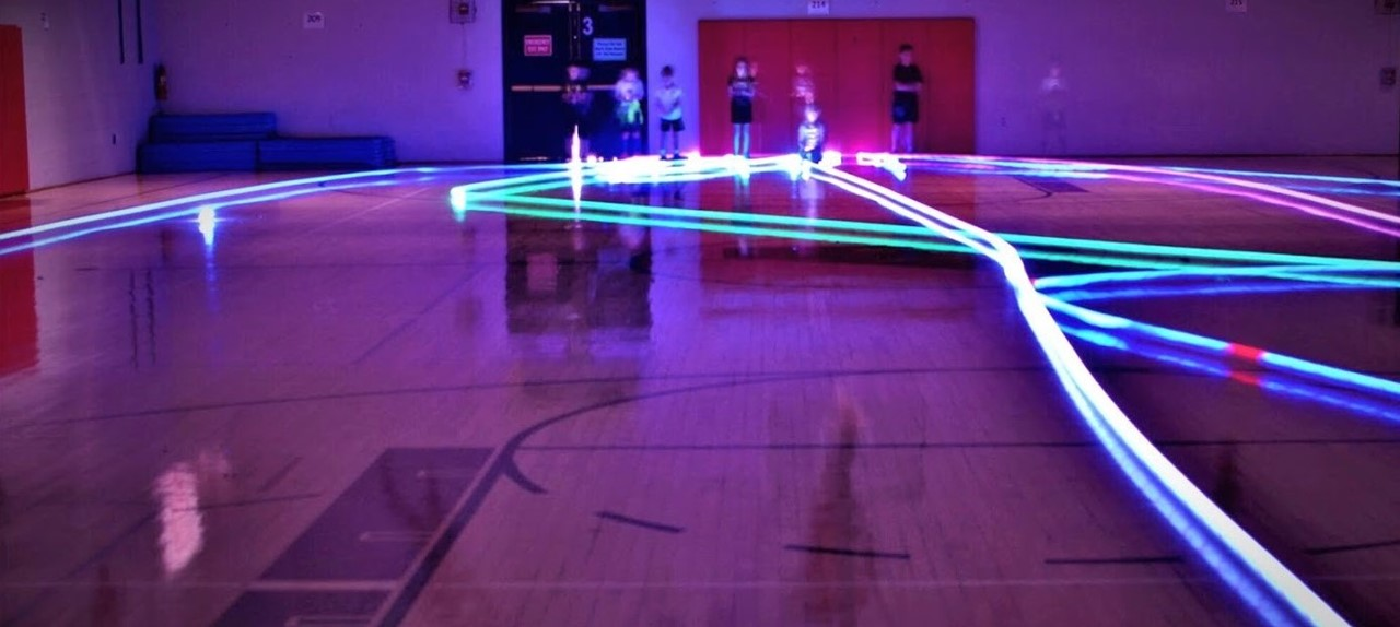 AES 3rd Grade Light Painting