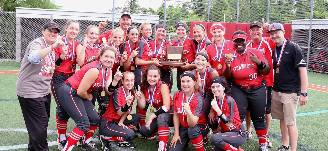 2019 WPIAL Champs - Girls Softball Team